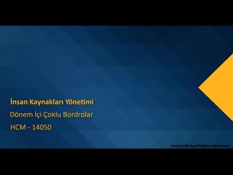 HCM 14050 : HCMT37 - Dönem Içi Çoklu Bordrolar