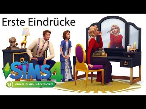 Glamour Vintage Accessoire Pack - Die Sims 4 Erste Eindrücke