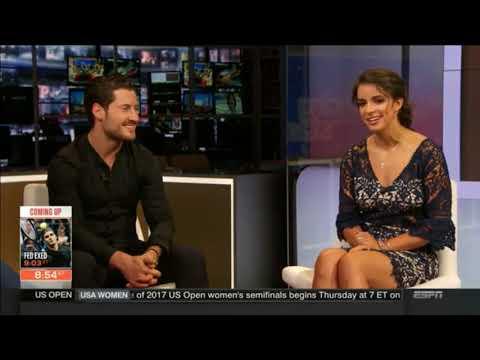 ESPN SportsCenter Interview | Victoria Arlen & Val Chmerkovskiy - 09.07.17