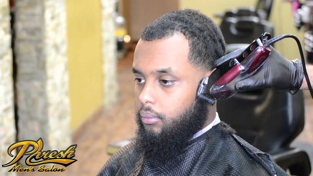 Full Barber Tutorial Low Taper Fade With Beard Enhancement Using