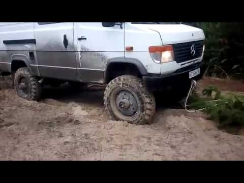mercedes vario 4x4 offroad and opel frontera youtube. Black Bedroom Furniture Sets. Home Design Ideas