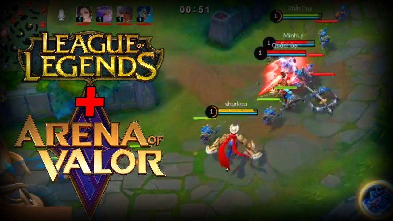 New mobile MOBA (2019): Like League of Legends?! (Arena of Glory)