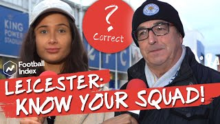 Know Your Squad: 'vardy?!' Leicester City Fans Quizzed W/sophie Rose