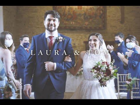 Laura & Tom - Beautiful Cinematic Barn Wedding Film - The Great Barn, Aynho