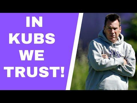 Minnesota Vikings and Gary Kubiak's offense is a perfect fit