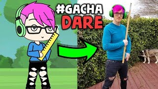 Doing your Gacha Dare's In REAL LIFE! (EMBARRASSING) Gacha Life Dares