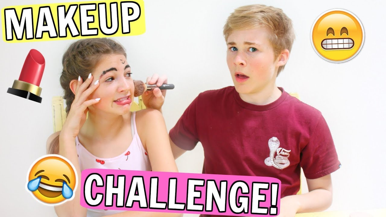 CASEY SIMPSON Does My Makeup!!????