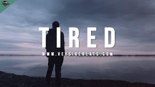"""Tired"" - Sad Piano Violin Rap Beat   Hard Deep Hip Hop Instrumental [prod. by Veysigz]"