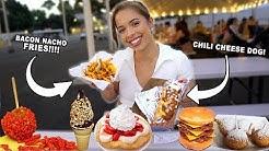 FAIR FOOD CHEAT DAY!!! 🍟🌭🍦 (LA County Fair)