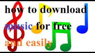 How to download any music for free and easily (SKIT REWA)