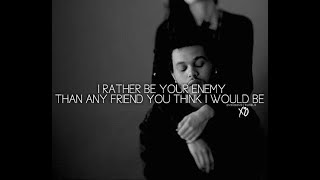 The Weeknd  Enemy lyrics