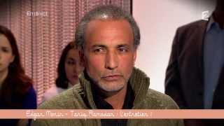 Edgar Morin et Tariq Ramadan sur le plateau de Ce soir ou jamais