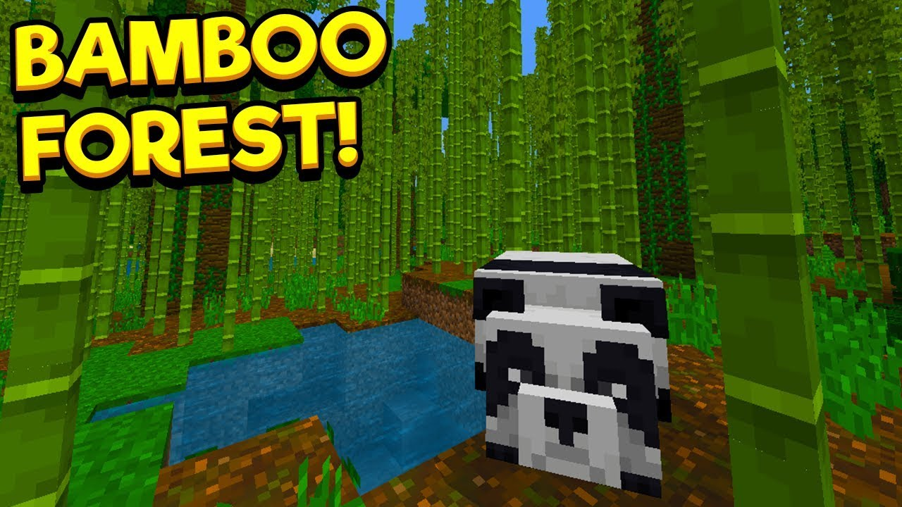 Awesome Bamboo Forest Seed Minecraft Pocket Edition Youtube