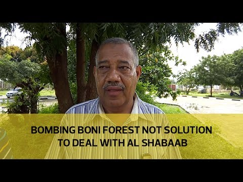 Bombing Boni forest not solution to deal with Al Shabaab