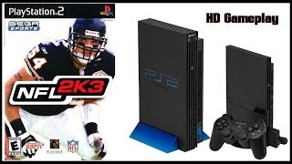 NFL 2K3 (PS2)(2002) Gameplay (HD) Dolphins V Texans