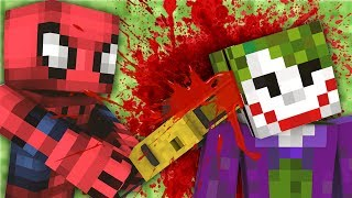 ÖLÜRSEN ÖRÜMCEK ADAM KAÇIR Minecraft