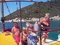 Kusadasi Turkey Pirate ship boat trip The Beach and the town 2018