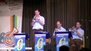 Berthold Schick und seine Allgäu 6 - Ciribiribin - Solist Reinhard Schäfer - Euregio