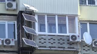 Мешканець Дніпра встановив сонячні батареї на стіні свого будинку(, 2017-02-17T14:16:22.000Z)