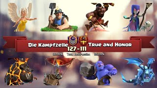 Special TH12 German Clan war | Vs True and Honor | 3 Star War Attack clash of clans COC 2018 CW P2/3