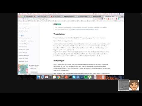 Live de Python #3 - Uma introdução ao Django com Andre Machado parte 1
