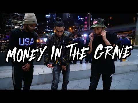 Asking Strangers To Freestyle Dance To Money In The Grave By Drake
