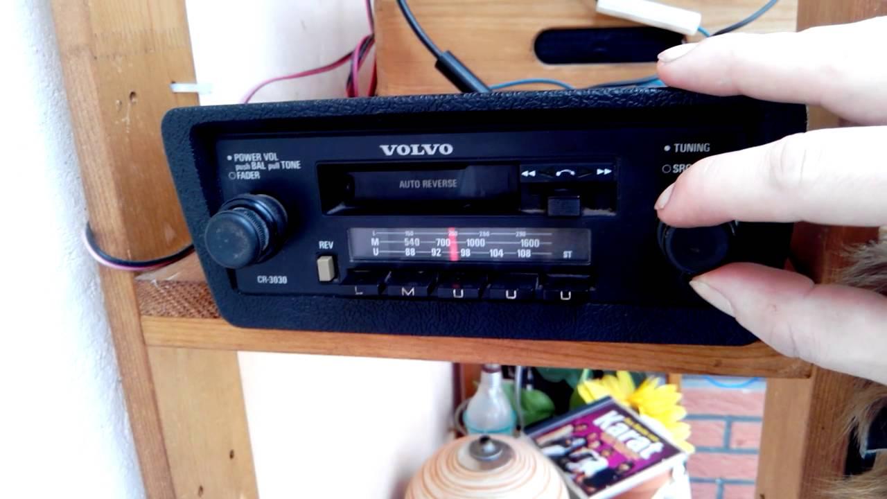 Volvo 240 Radio - Volvo Radio Cr - Volvo 240 Radio