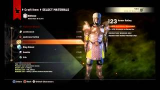 Dragon Age: Inquisition - Orlesian Army Warrior, Stunning Channeling Orlesian Armor Crafted PS4