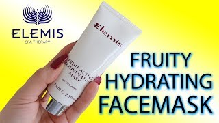 Elemis Facemasks - How Applying Facemask Provides Skin Rejuvenation! (2018) | Claire Tutorials