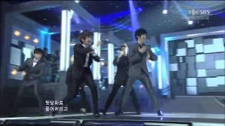 110821 SBS 인기가요 Dance festival 슈퍼주니어(Super junior) - Mr. Simple