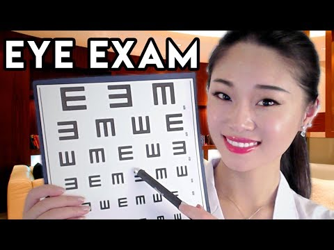 [ASMR] Doctor Roleplay - Relaxing Eye Exam