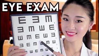 [ASMR] Doctor Roleplay - Relaxing Eye Exam