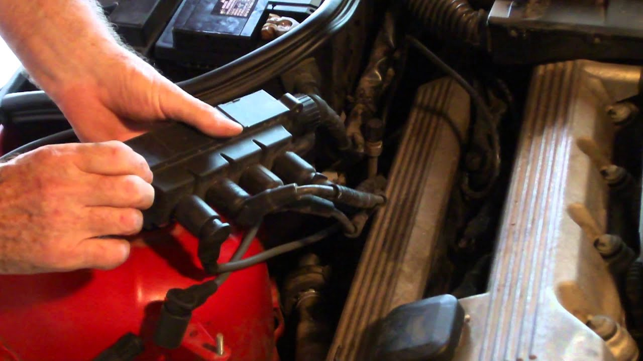 How To Change The Spark Plug Wire And The Coil On A 1996