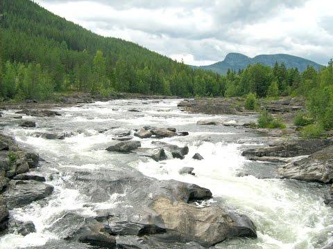 "Nature of Norway: The Great River ""Hallingdalselva"""