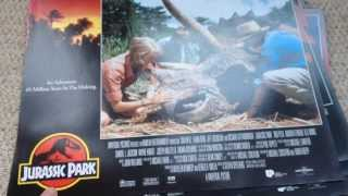 Jurassic Park Official Cinema Lobby Cards