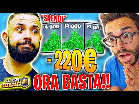 (è colpa vostra!) CICCIO MI FA SPENDERE ALTRI 220€ SU CLASH ROYALE!! *Basta vi prego!*