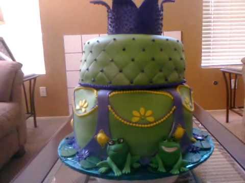 Princess And The Frog Theme Cake Youtube
