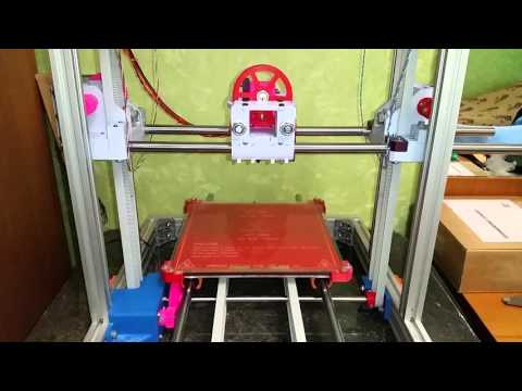 RepRap Radus-T belt on Z axis self moving down
