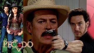 Mi Pecado - Capítulo 35: ¡Julián le dispara a Gabino! | Televisa