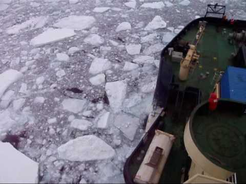 Icebreaker Oden in McMurdo Sound