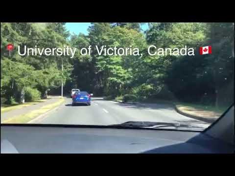 Beautiful Campus of University of Victoria, Canada