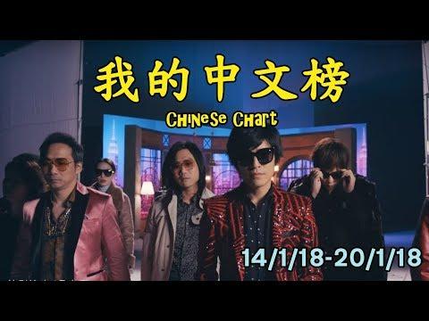 我的中文榜二十大 My Chinese Chart Top 20 Songs (14/1/18-20/1/18)
