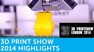 3D Print Show London 2014 Highlights | Presented By Solopress