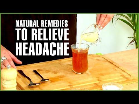 4 Best Natural HOME REMEDIES FOR  HEADACHE