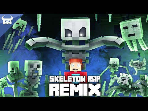 "MINECRAFT SKELETON RAP REMIX | ""I've Got A Bone"" 