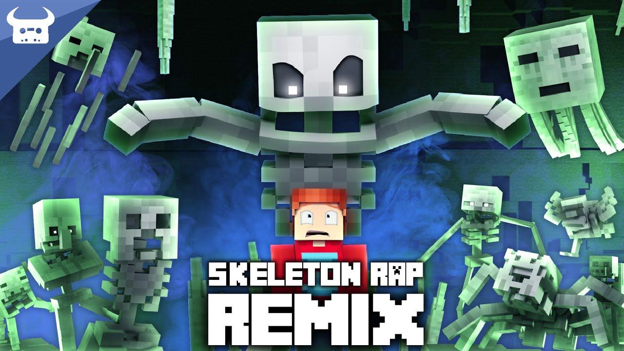 "Download MINECRAFT SKELETON RAP REMIX | ""I've Got A Bone"" | Oxygen Beats Dan Bull Animated Music Video"