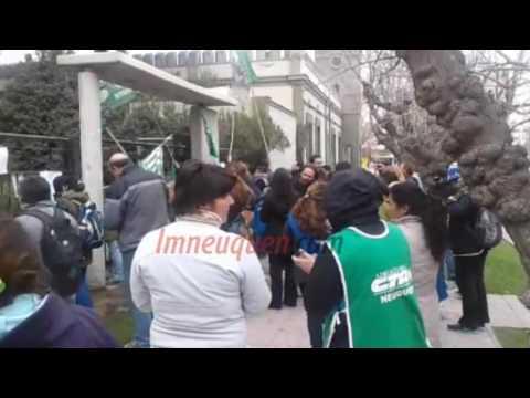 ATE protestó contra Macri afuera de Casa de Gobierno