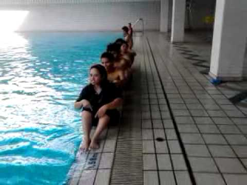 swimming pool of the stadium