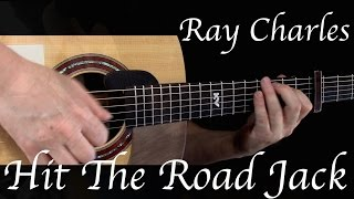 Kelly Valleau - Hit The Road Jack (Ray Charles) - Fingerstyle Guitar