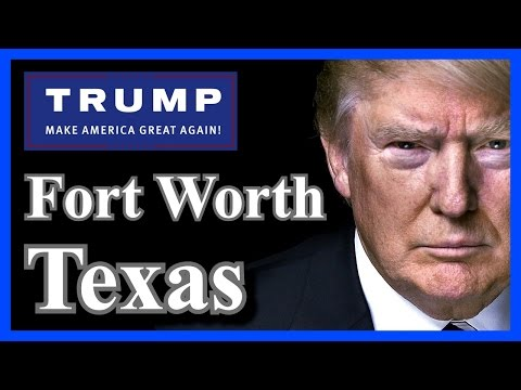 LIVE Donald Trump Fort Worth Texas Chris Christie Endorses Donald Trump Rally  FULL SPEECH HD ✔